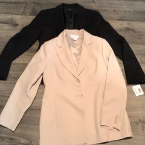 Blazer bundle! Size 6 black & tan one price! NWT